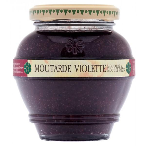 Moutarde Violette au moût de raisin