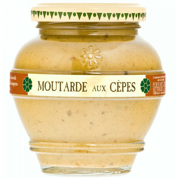 Moutarde aux Cèpes